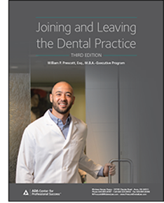 Guide Cover: Joining and Leaving the Dental Practice, 3rd Edition