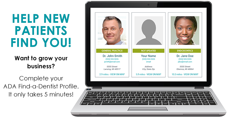 Help new patients find you