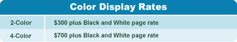color display rates