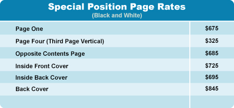 special position page rates