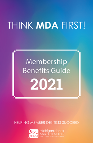 2021 MDA Member Benefits Guide Cover