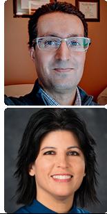 Dr. Aftab Macksood and Dr. Juliana Hukill J